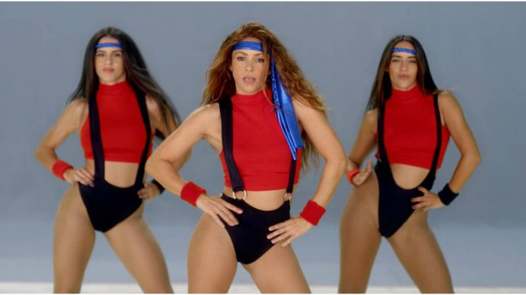 FOTO: Shakira presentó