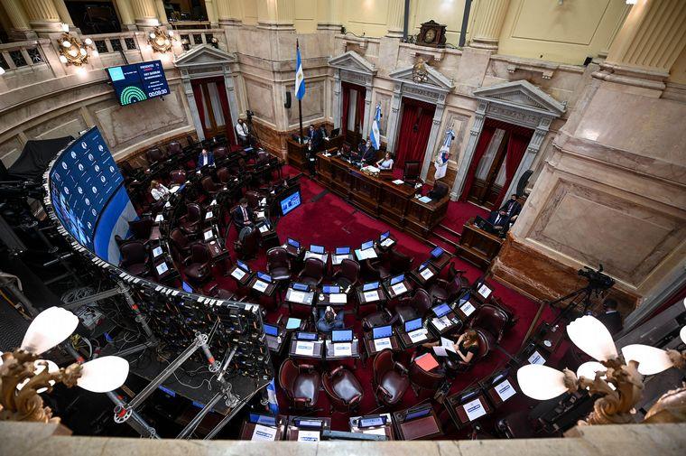 """FOTO: El Senado planea un tratamiento """"ágil"""" de la legalización del aborto."""