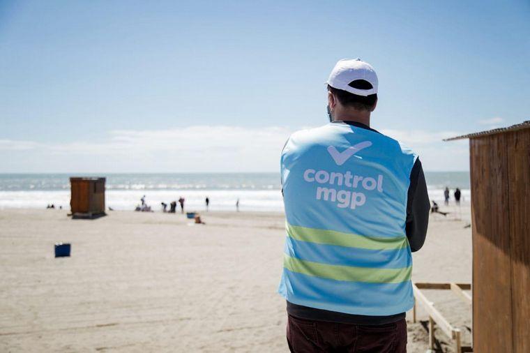 FOTO: Finde XXL: controles en accesos y playas de Mar del Plata.