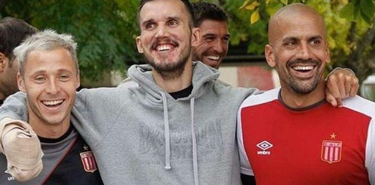 FOTO: Maxi Kondratiuk, ex jugador de Gimnasia