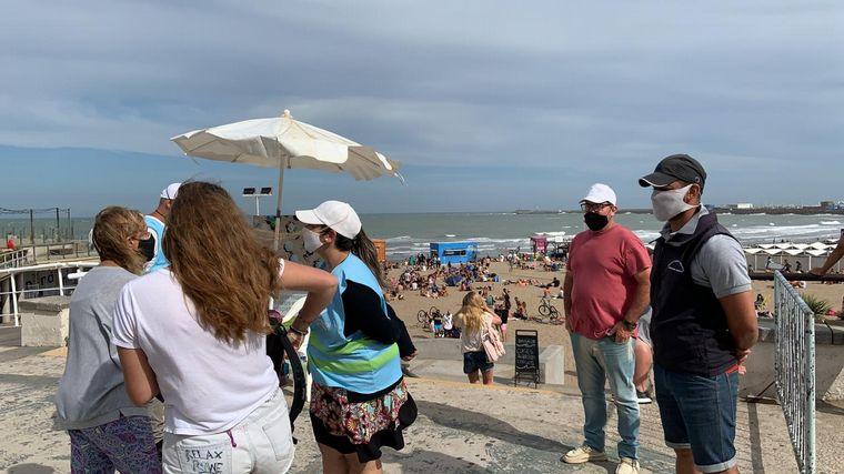 AUDIO: Estrictos controles y protocolos en las playas de Mar del Plata