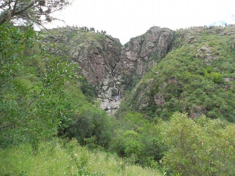 FOTO: Cascada Los Chorrillos, un paraíso en medio de la montaña de Tanti.