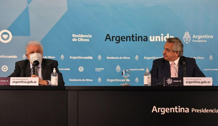 FOTO: Alberto Fernández expresó su