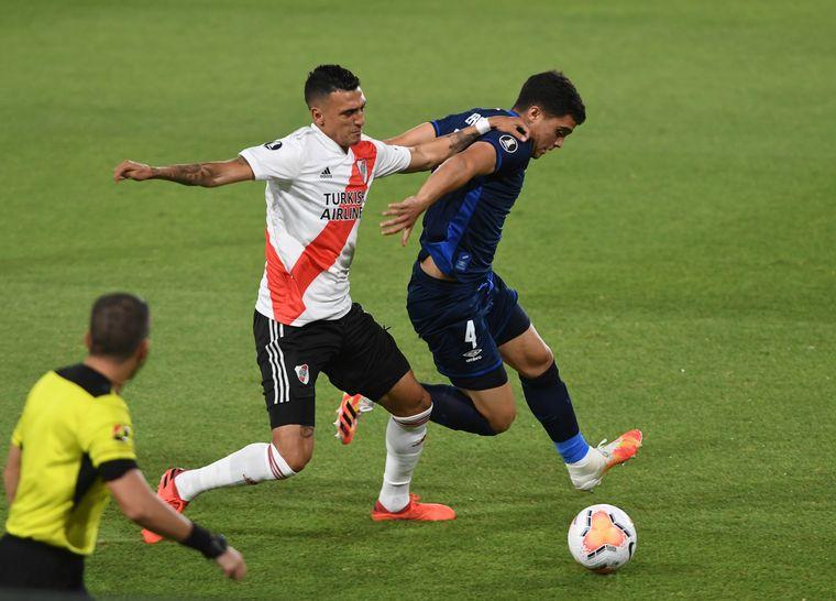 El VAR le anuló un gol a River y sigue el 0-0 ante Nacional - River Plate -  Cadena 3 Argentina