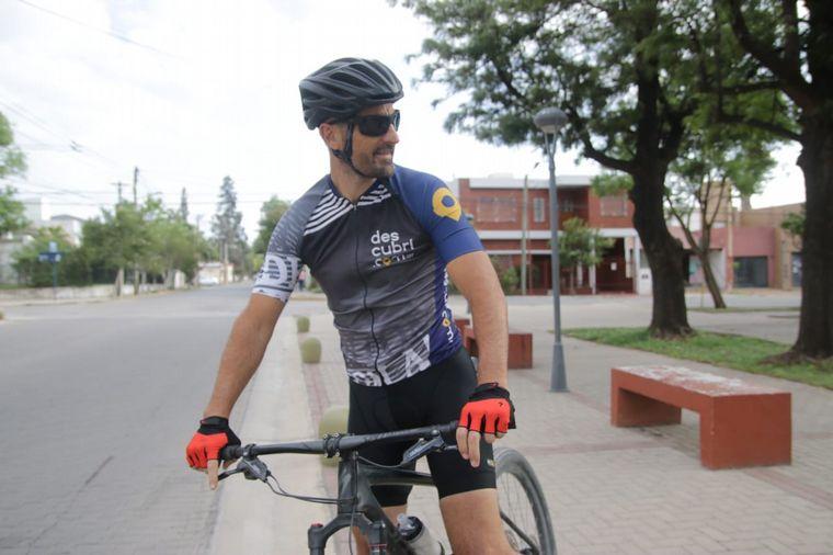 FOTO: Juan Pablo Viola nos muestra cómo es el descenso en bici del Pan de Azúcar.