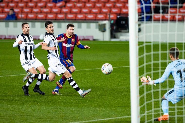 FOTO: El crack argentino sigue haciendo historia en el club catalán.