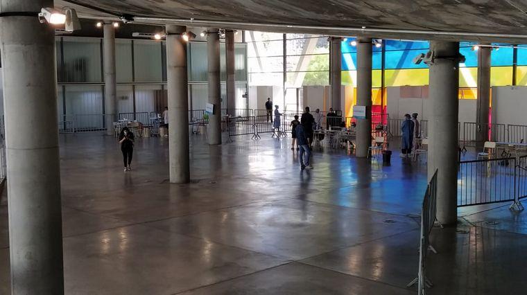 FOTO: Nuevo punto de testeo en el Centro Cultural Córdoba