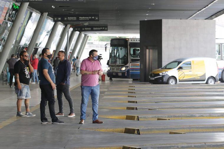 FOTO: Vuelta de los interurbanos-Terminal de Córdoba