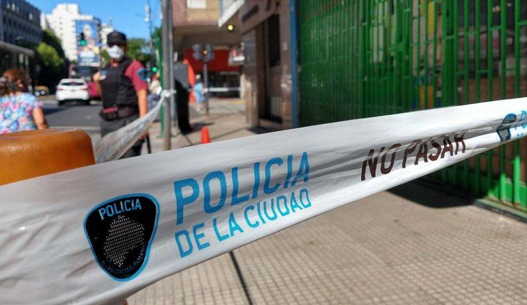 FOTO: Asesinaron a balazos a un comerciante chino en Caballito.