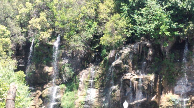 AUDIO: Complejo Siete Cascadas, ideal para una escapada a La Falda