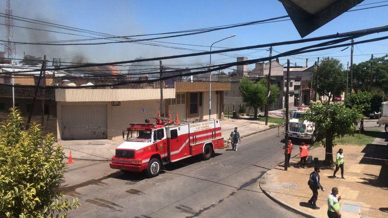 FOTO: Incendio en Loma Hermosa
