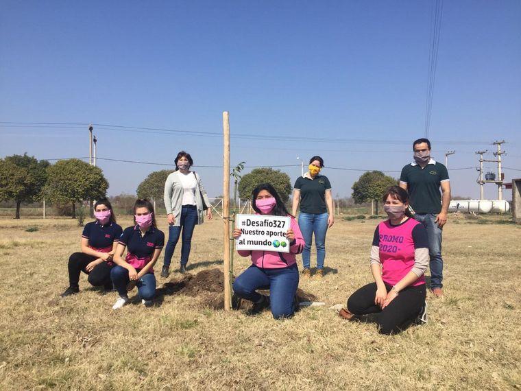 FOTO: Los alumnos del IPEM 327 María Secundina López.