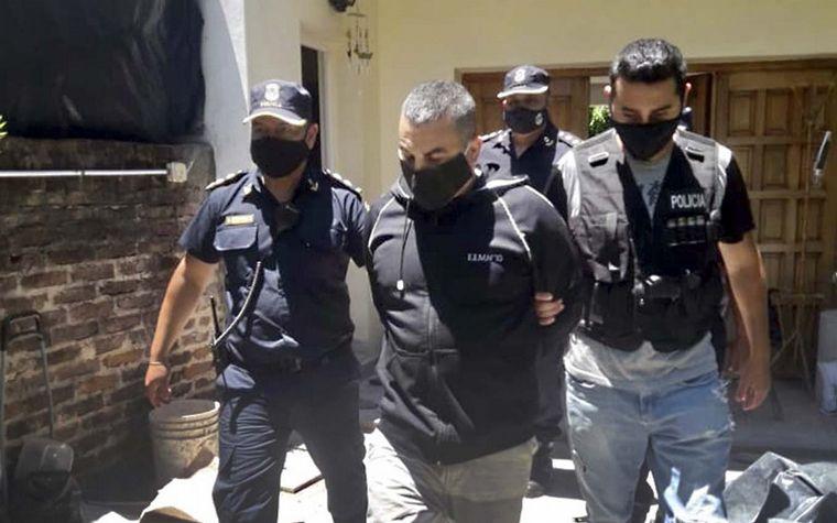 FOTO: Fabián Tablado fue detenido este miércoles en Tigre.