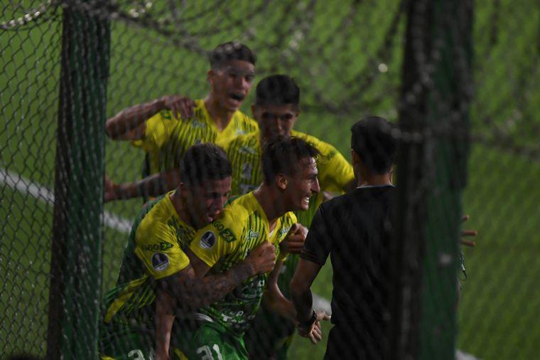 FOTO: Defensa y Justicia le ganó a Bahía y está en las semifinales de la Sudamericana.