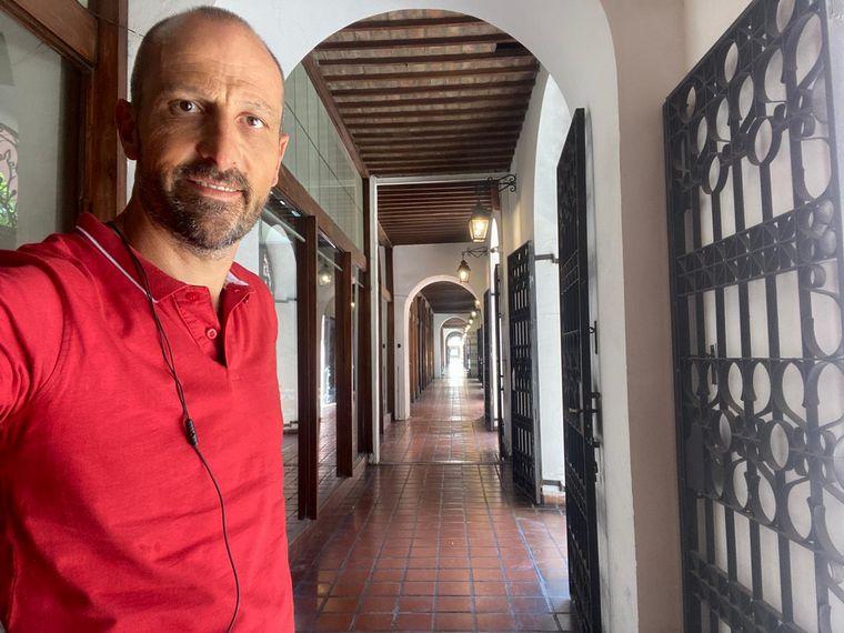 FOTO: Recorrido pedestre por el centro histórico de Córdoba