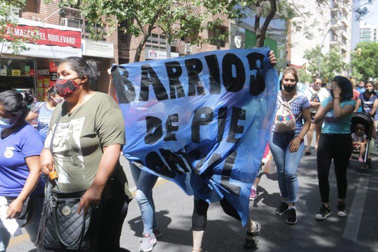 AUDIO: Cortes y caos en el centro de Córdoba por protestas Foto: Barrios de Pie