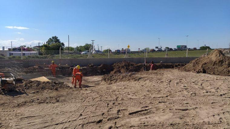 FOTO: La Municipalidad prepara el primer centro de transferencias de residuos.