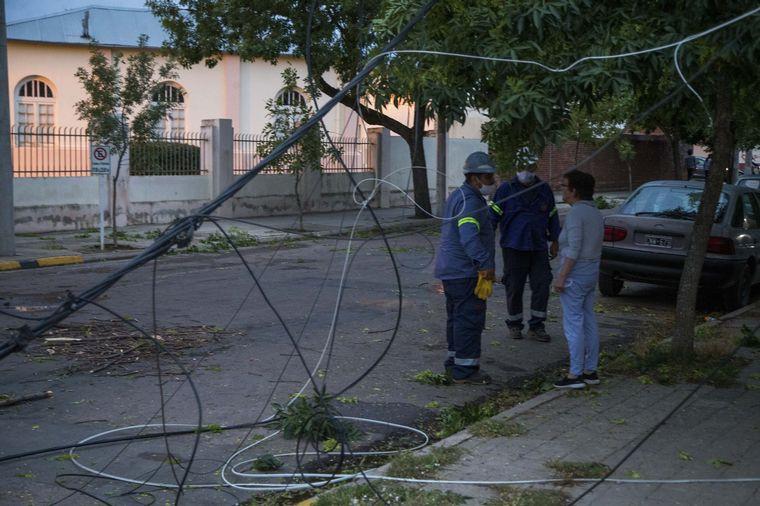 AUDIO: Un tornado sacudió a La Pampa.