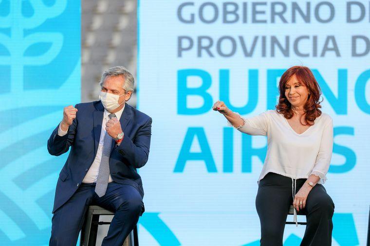 FOTO: Alberto y Cristina, juntos en otro acto.