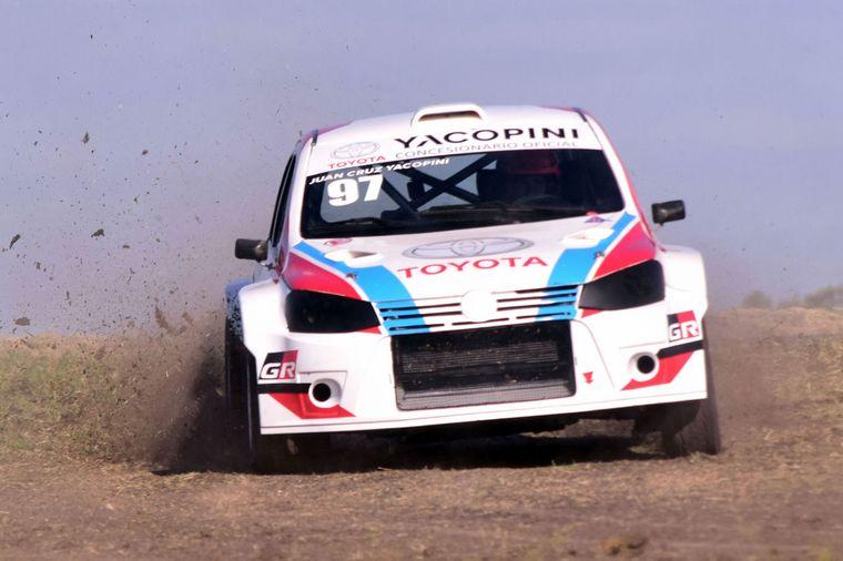 FOTO: Mario Baldo y el DS3 Maxi Rally, 65 puntos.