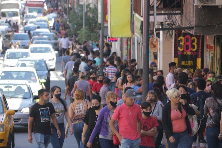 AUDIO: Fiebre por las compras navideñas en el centro de Córdoba