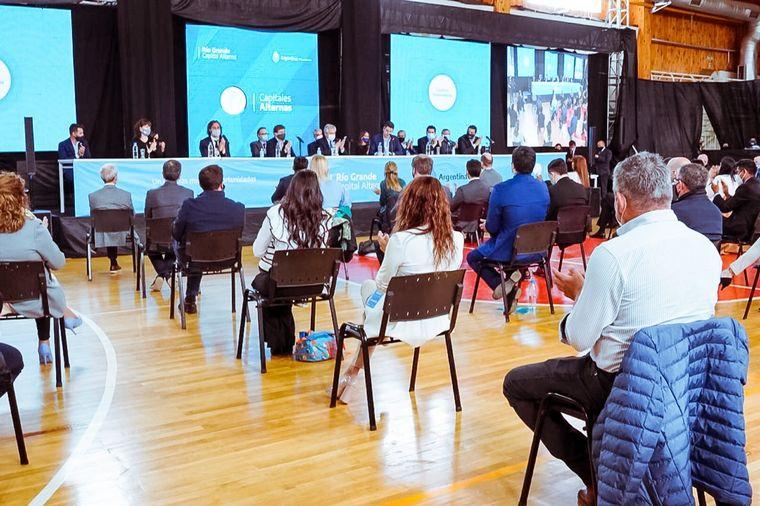AUDIO: Alberto Fernández visitó Tierra del Fuego y destacó la inversión en obra pública