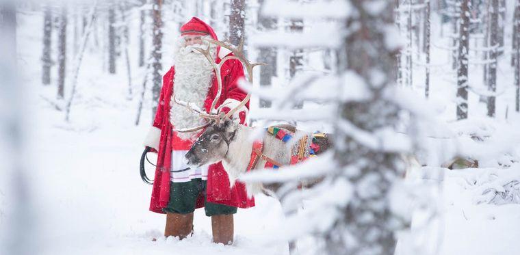 FOTO: Nahuel Ríos estuvo en Rovaniemi
