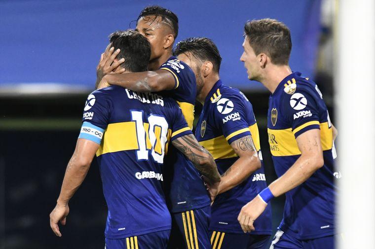 AUDIO: 2° Gol de Boca (Villa, de penal)