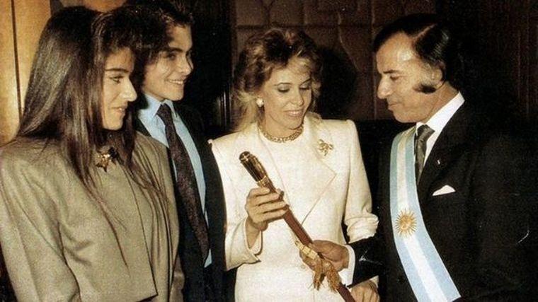 FOTO: Nair Menem, un hijo de Menem reconocido judicialmente en 2006.