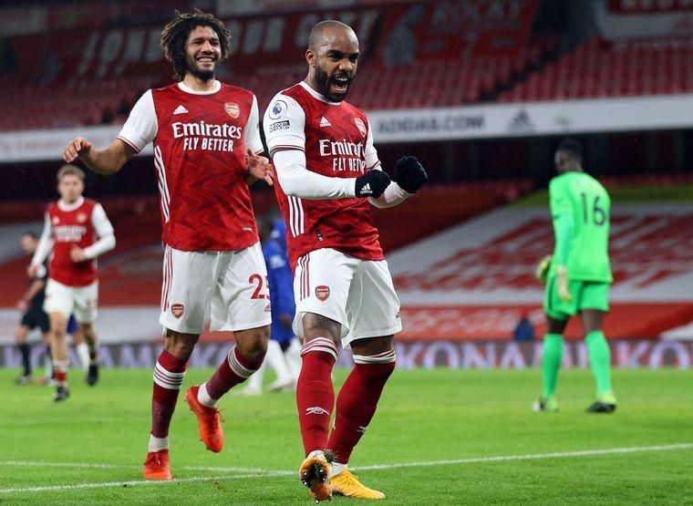 FOTO: Con este resultado, Arsenal ocupa el decimocuarto puesto con 17 puntos.