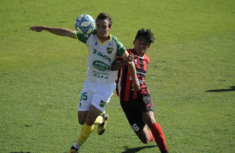 FOTO: Defensa se prepara para la semifinal de la Copa Sudamericana.
