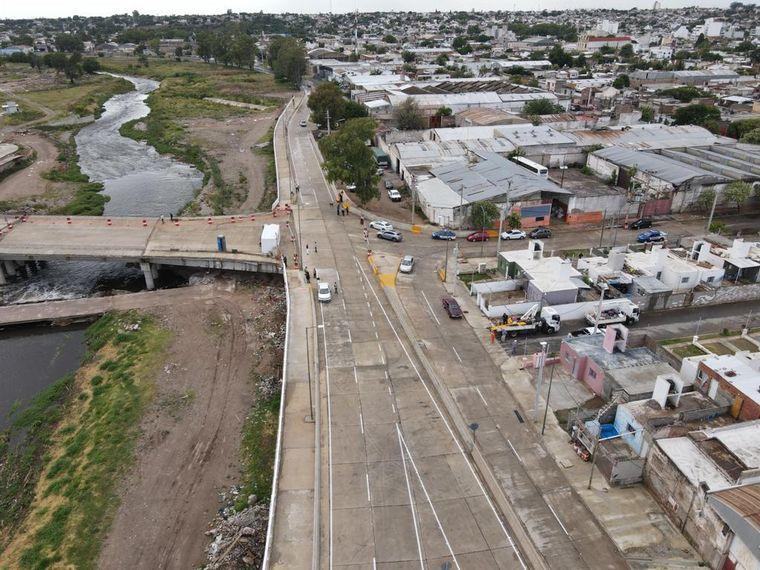 FOTO: Schiaretti habilitó tramo final desde Circunvalación hasta el Hombre Urbano.