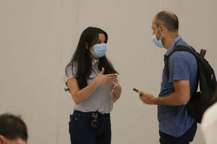 FOTO: Puestos de vacunación en el Centro de Convenciones.