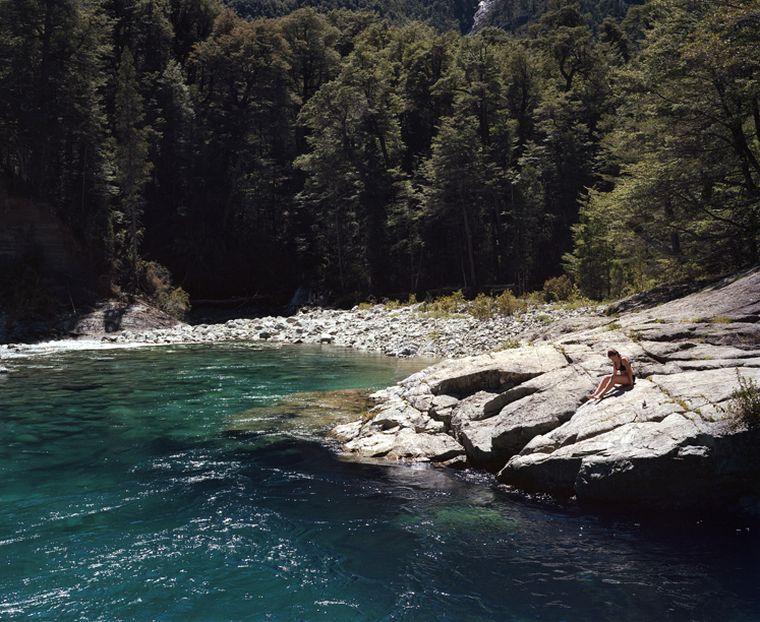 FOTO: Cajón del Azul en Río Negro