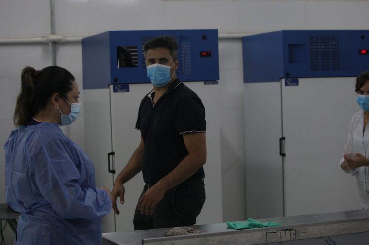 FOTO: Comenzó la vacunación con la Sputnik V en el Centro de Convenciones de Córdoba