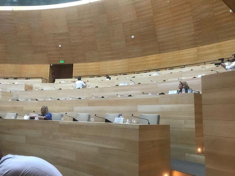 AUDIO: Legislatura: el oficialismo no dio quórum y no se trató el proyecto Ficha Limpia