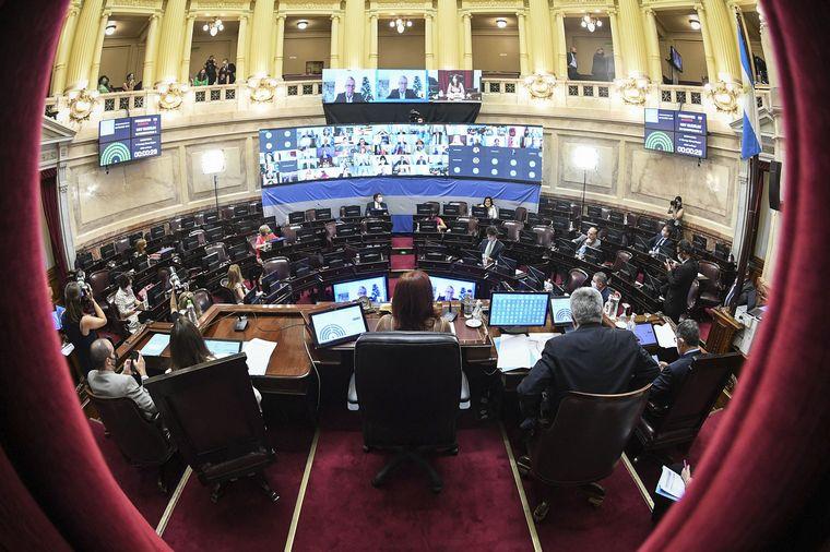 FOTO: El Senado aprobó la legalización del aborto en Argentina