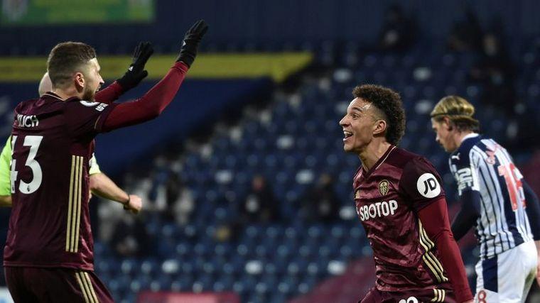 FOTO: El Leeds de Bielsa goleó 5 a 0 a West Bromwich