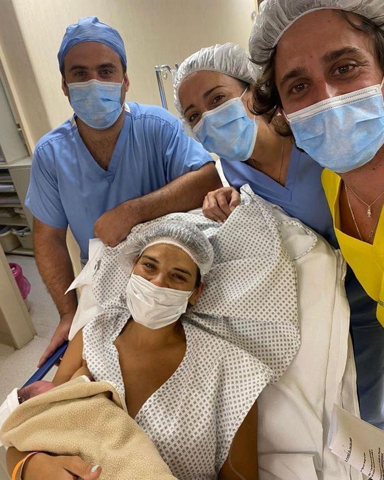 FOTO: Nació el bebé de Micaela Vázquez y Gerónimo Klein.