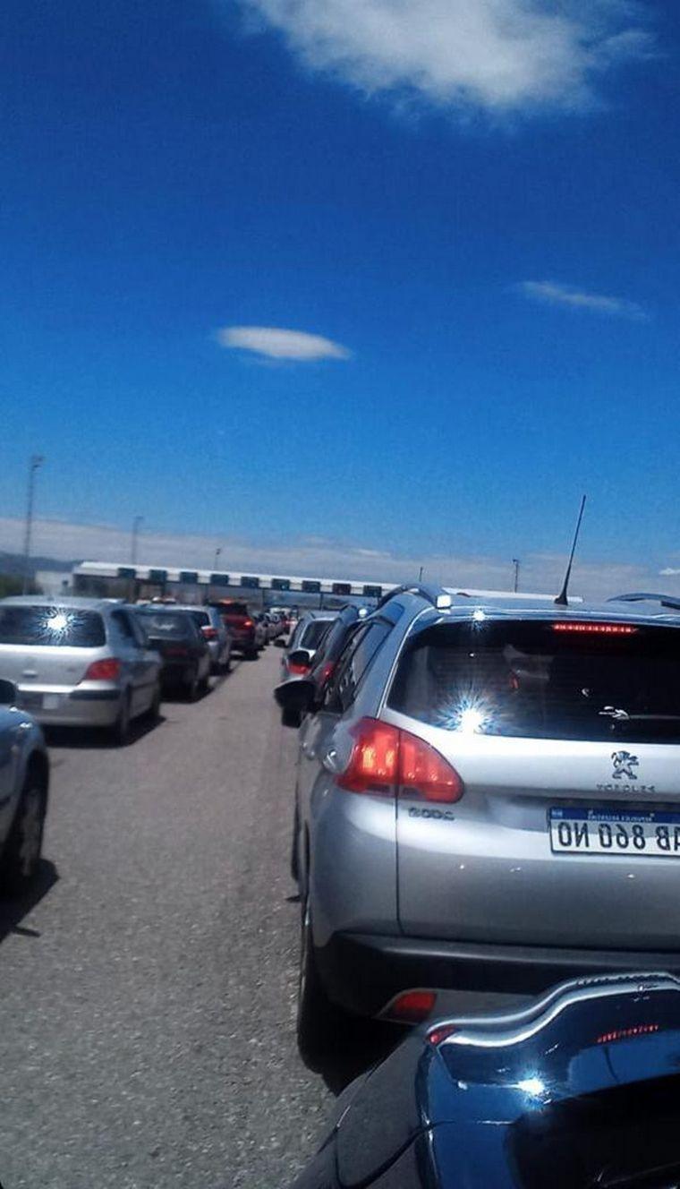 AUDIO: Autopista Córdoba-Carlos Paz: registran un abundante tránsito en el inicio de año