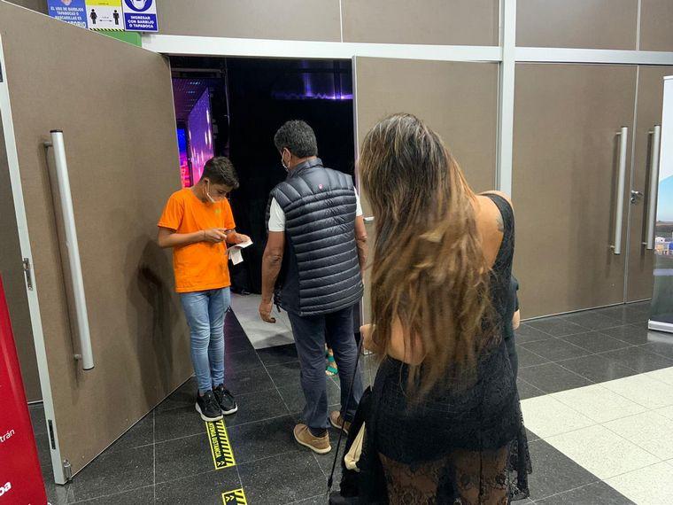 FOTO: América Show se presentó bajo protocolos en Carlos Paz