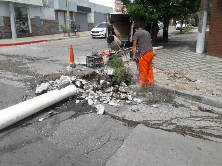 AUDIO: San Vicente: denuncian un desborde de aguas cloacales