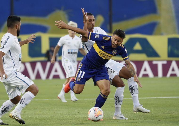 FOTO: Boca recibe a Santos por la ida de la semifinal.