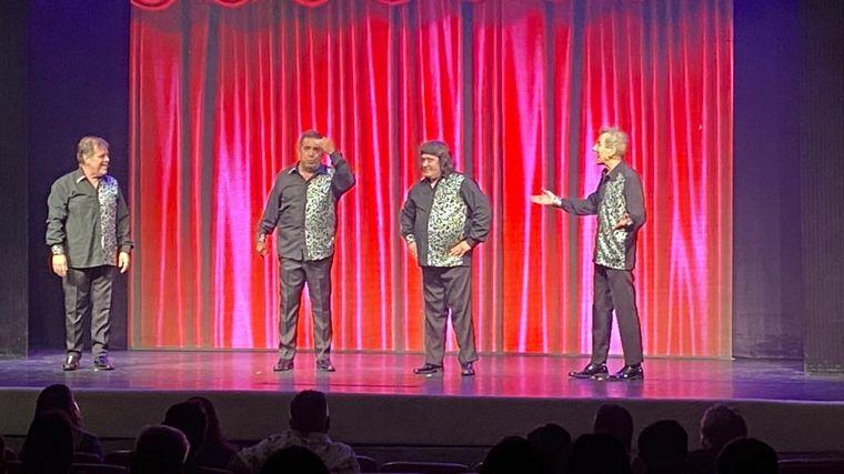 AUDIO: Los 4 Fantásticos del Humor estrenó a pura risa en Mar del Plata