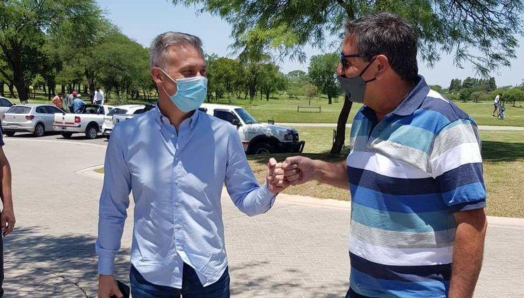 FOTO: Daniel Salibi apoyó los anuncios del Gobierno de Córdoba