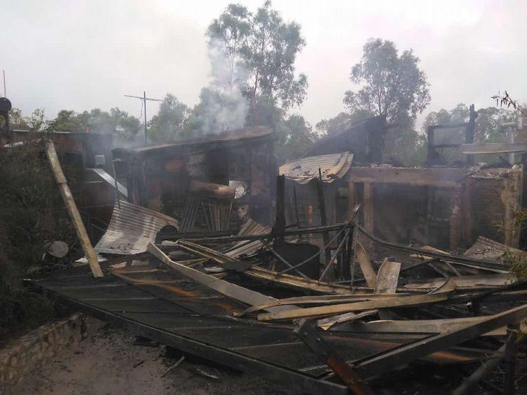 FOTO: El vorazon incendió se