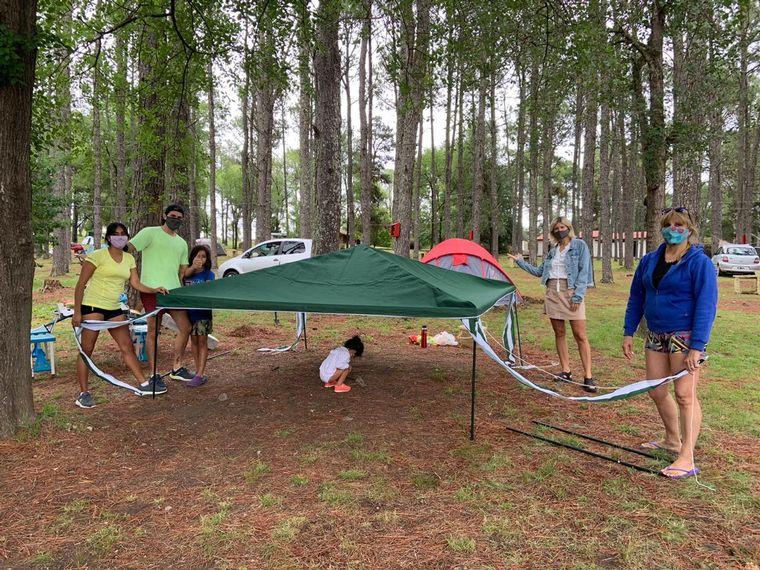 AUDIO: Camping Tannenwald, una opción para vivir la naturaleza en Calamuchita