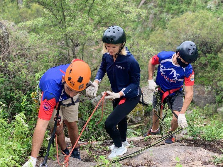 AUDIO: Rappel y actividades de aventura en La Ernestina, una estancia natural