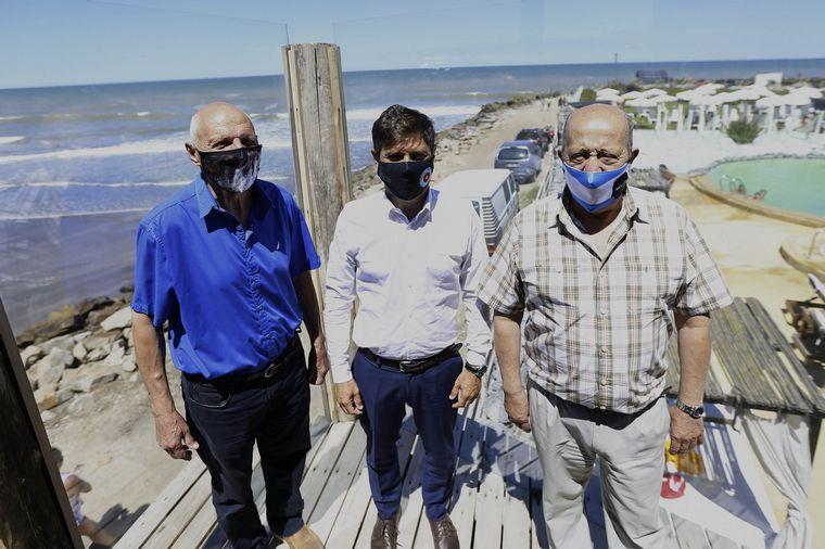 FOTO: Axel Kicillof brindó una conferencia en Santa Clara del Mar.