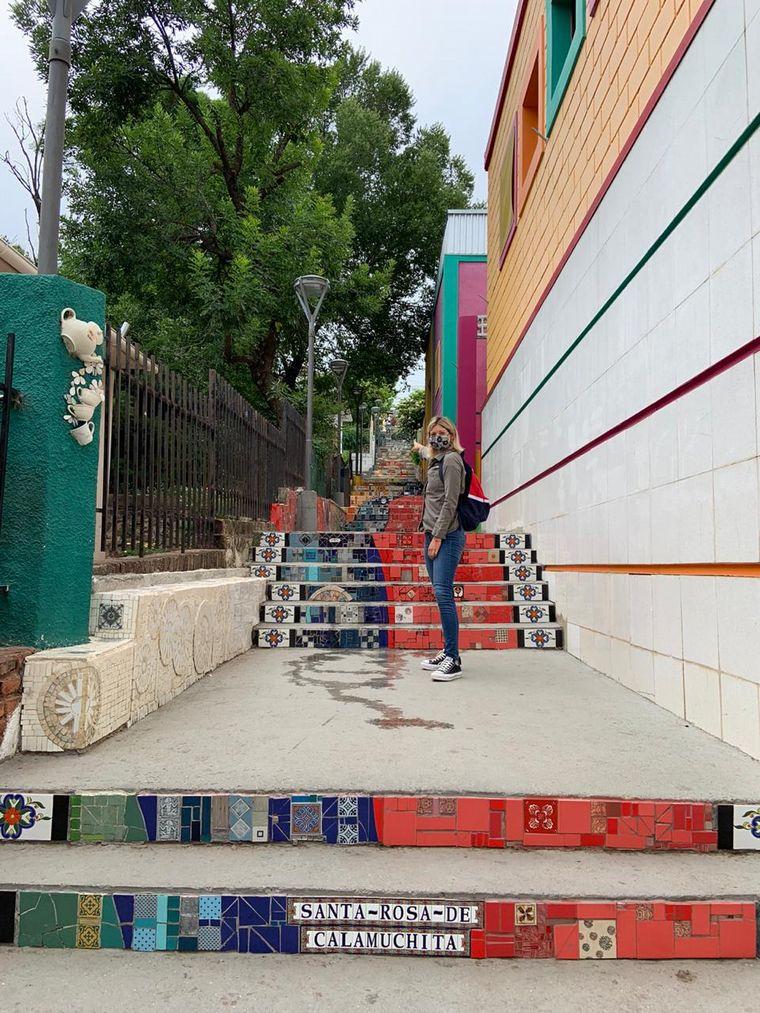 FOTO: Así se vive la peatonal de Santa Rosa de Calamuchita